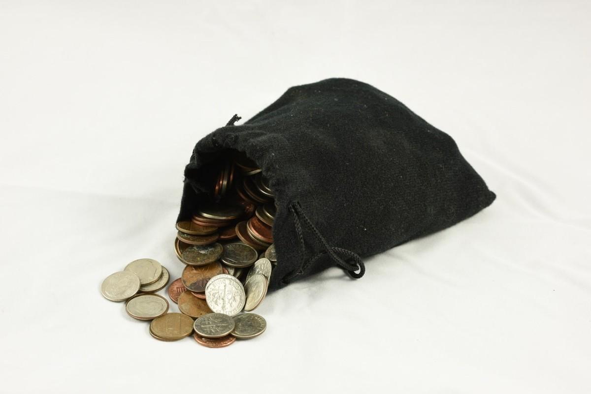 小銭に両替