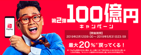 100億円PayPay
