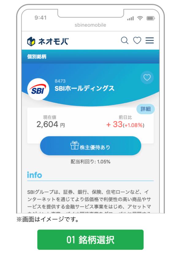 SBIネオモバイルスマホ注文